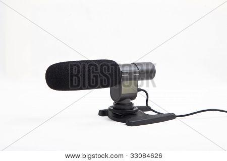 camera microphone studio shoot