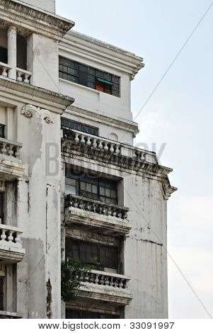 Old Neo Classical White Building