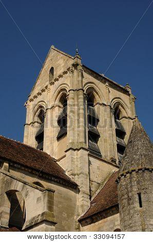 France, The Church Of Auvers Sur Oise