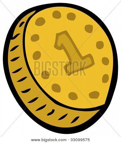 cartoon coin