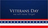 Veterans Day Celebration Illustration. Us Flag On Hd Background Banner. Remember And Honor. poster