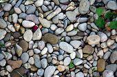 Stone Wall Texture Photo, Stone Background , Stone Floor Texture, White Stone Floor In The Garden, W poster