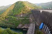 The Bhumibol Dam(formerly Known As The Yanhi Dam) In Thailand. poster