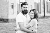 Man Bearded Hipster And Pretty Woman In Love. Loving Heart Is Truest Wisdom. Summer Vacation. Fall I poster