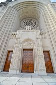 Washington DC - Basilica of the National Shrine of the Immaculate Conception - Main gate