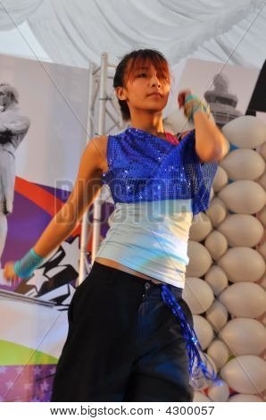 Dance Performance During Youth Olympic Logo Launch