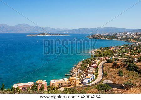 Mirabello Bay. Crete, Greece