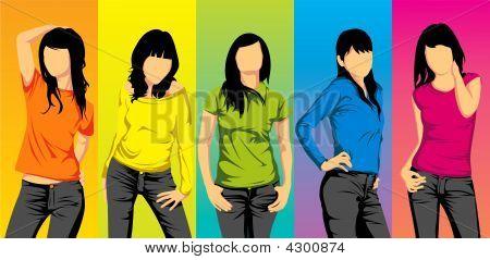 Asian Teen Girls