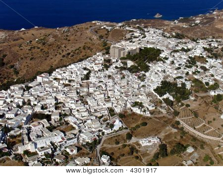 Patmos Aerial View.
