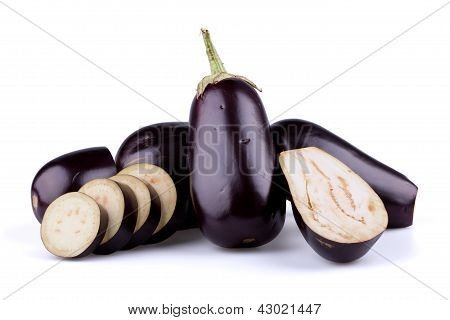Eggplants Or Aubergines