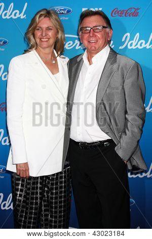 LOS ANGELES - MAR 7:  Ken Warwick arrives at the 2013