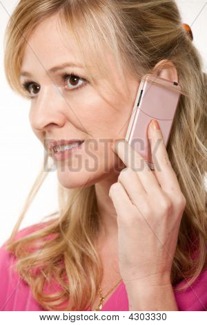 Woman Talking On Cell Phone
