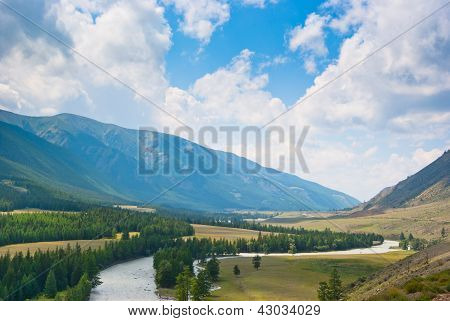 The River In Mountains