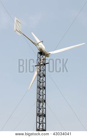 Windmill On A Background Of The Sky