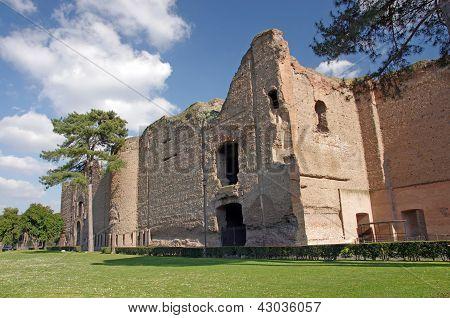 Ruinas de los baños de Caracalla