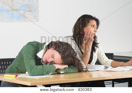 Langweilige Klasse