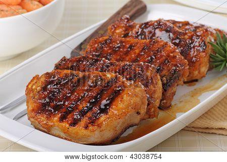 Grilled Pork Loin