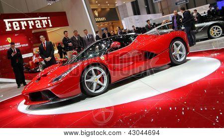 Ferrari Laferrari Hybrid Supercar