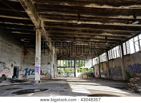 abandoned and dilapidated
