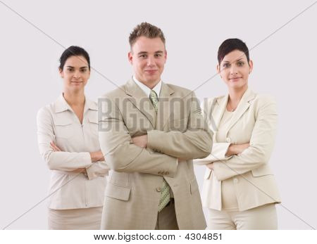 Portrait Of Businessteam