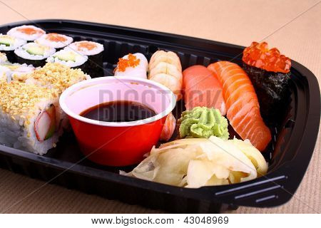 Exclusive Sushi Menu In Your Delivery