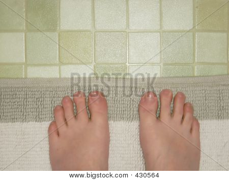 Bathroom Feet