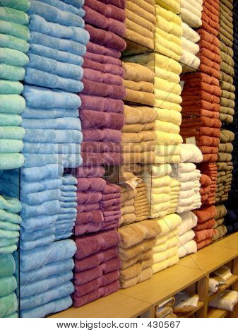 Rainbow Of Towels