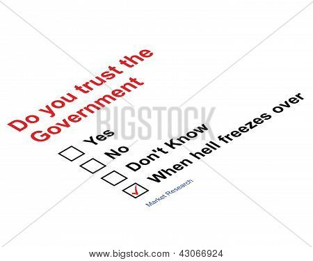 Market research government