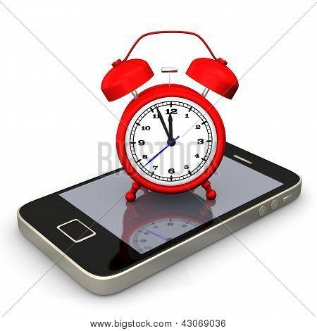 Teléfono inteligente de alarmas