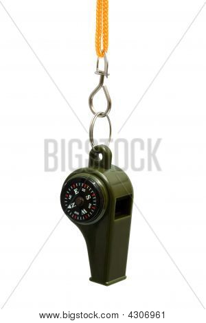 Whistle With A Compass