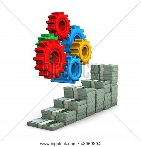 Money Chart Gears