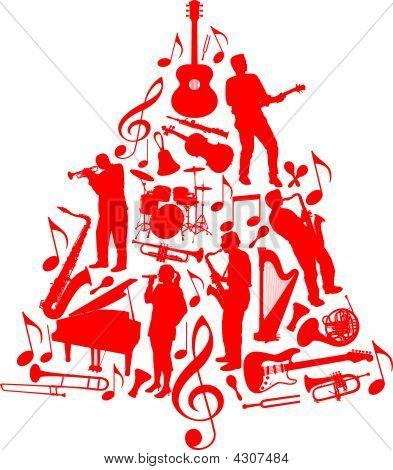 Árbol de Navidad de música