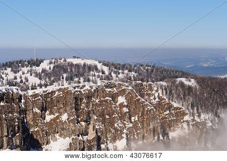 Metabief Ski Resort And Mountain