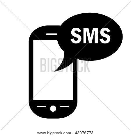 Vector sms symbol