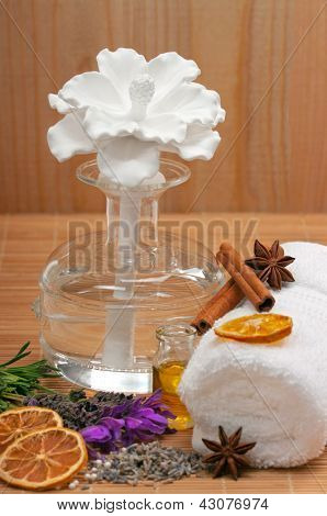 Scented oil diffuser ( reed diffuser)
