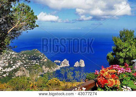 impresionante Isla de Capri, bella Italia serie