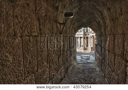 Passage Or Vomitorium Of The Theatre