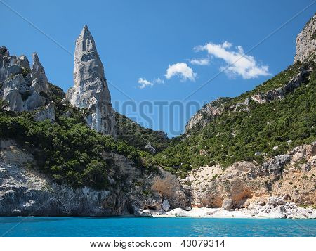 Sardinia Cala Goloritze Beach