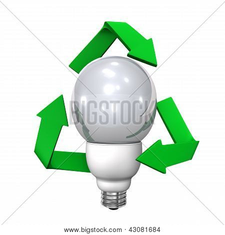 Bulb Recycling Symbol
