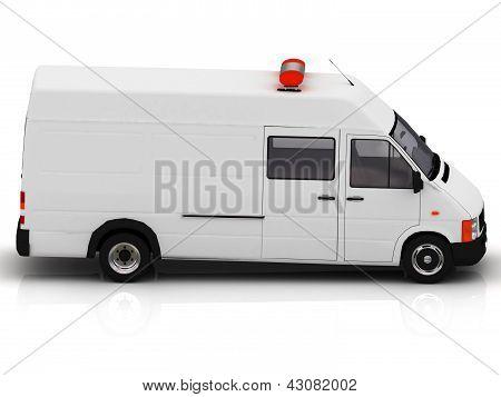Ambulance With Siren
