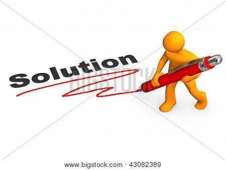 Solution Manikin Ballpen