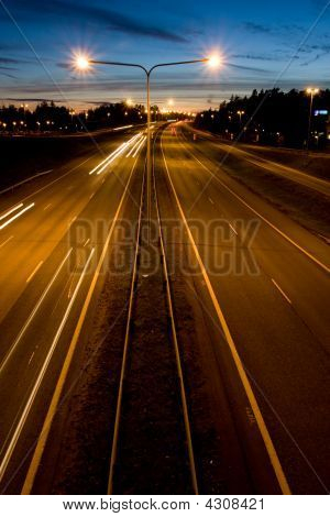 Highway At Night 2
