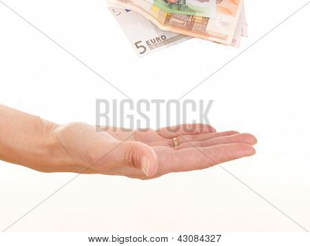 Giving Somebody Money