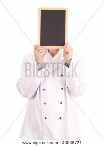 Cook With Blackboard