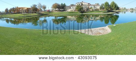 Lake Homes Panorama