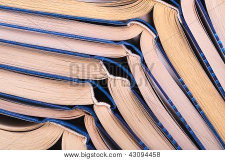 Open Books Close-up