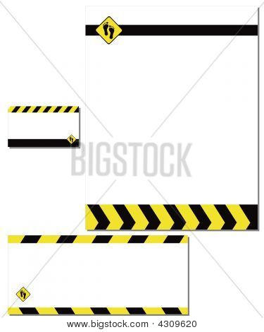 Business Stationery Paper Envelope Card