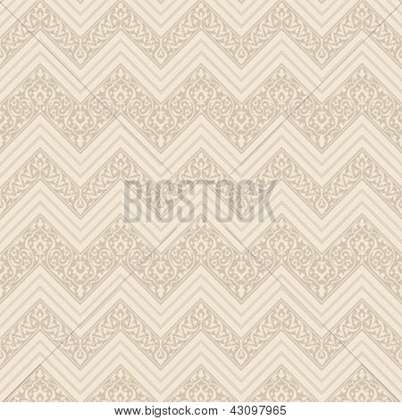 Vintage Floral seamless pattern. Retro background abstract.  High detail Vector wallpaper.