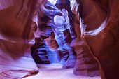image of quicksand  - Antelope Canyon is a slot canyon located on Navajo land near Page Arizona - JPG