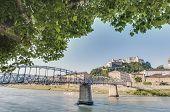 stock photo of mozart  - Mozart bridge  - JPG